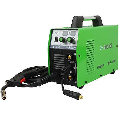 Mig Welding 150a Gasno Gas 110220v Flux Core Arc Stick Mma Inverter Welder Us