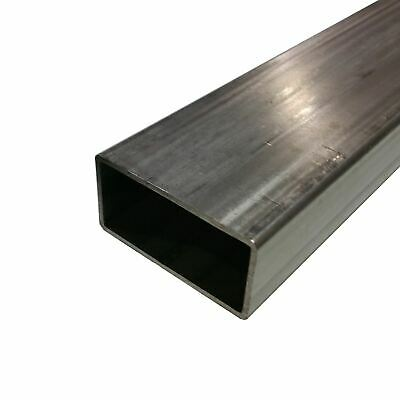 304 Stainless Steel Rectangle Tube 34 X 2 X 0.120 X 48 Long