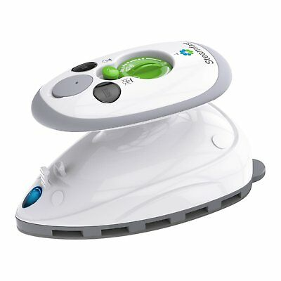 Vornado Mini Travel Steam Iron with Dual Voltage White