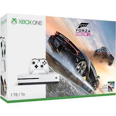 Microsoft 234-00105 Xbox One S 1TB Console Forza Horizon 3 Bundle