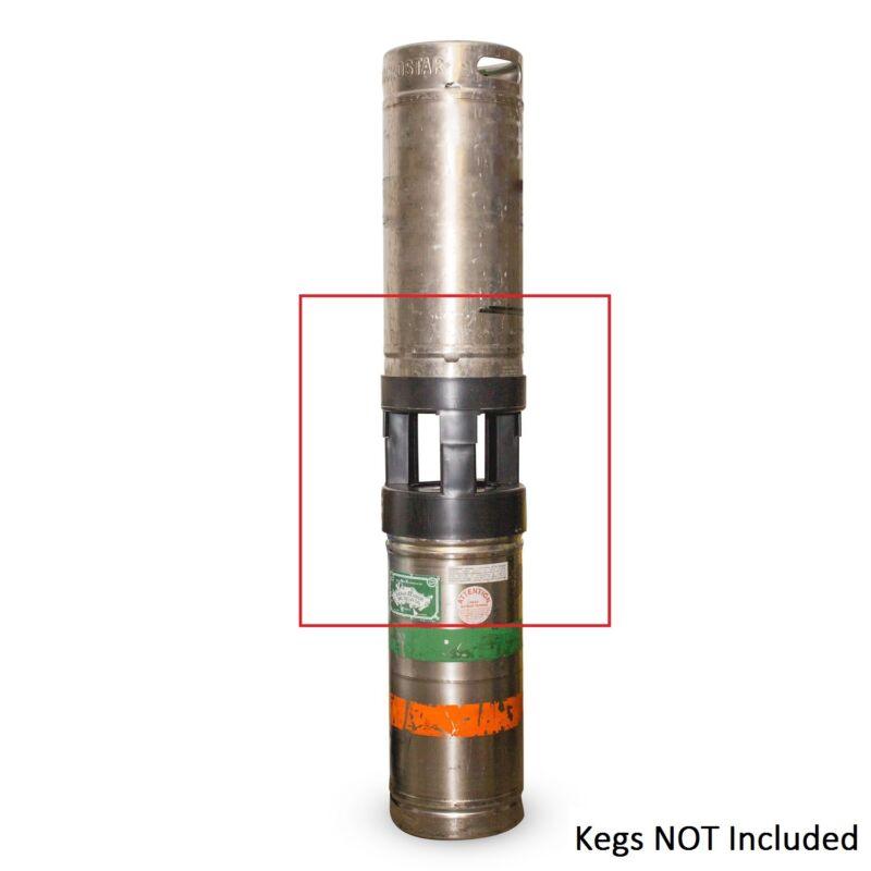 Sixtel Keg Spacer - Bar/Pub/Restaurant Draft Beer Keg Cooler Storage