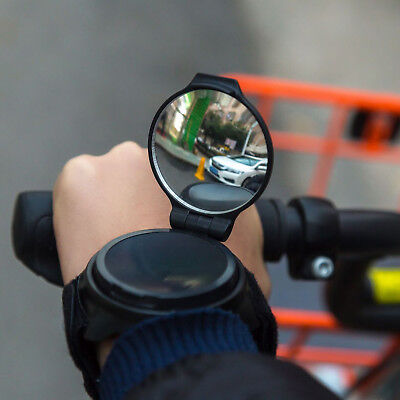 360° Adjustable Cycling mirror Cyclists Bicycle Rear Best Mirror Wrist