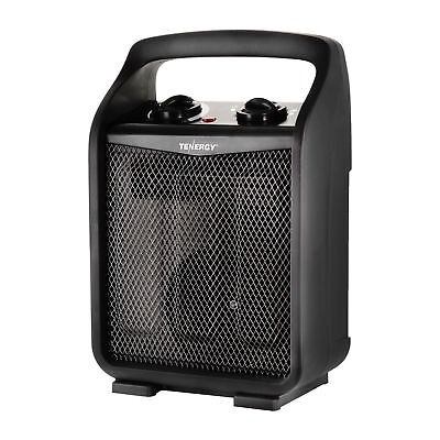 Tenergy 1500w750w Space Heater Adjustable Thermostat Air Electric Fan Heater
