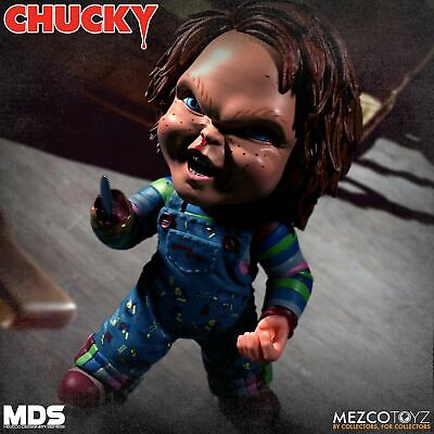 Mezco Toyz Deluxe Chucky Doll Childs Play Horror Scary Movie Figurine WC78103](Scary Chucky)