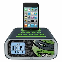 iHome Nicelodeon Dual Alarm Clock Speaker System for iPod TM-H22.2