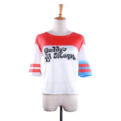 Suicide Squad Harley Quinn T Shirt Daddy's Lil - Harley Quinn Kostüm Plus