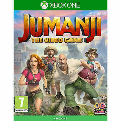 Jumanji The Video Game XBOX ONE New and Sealed