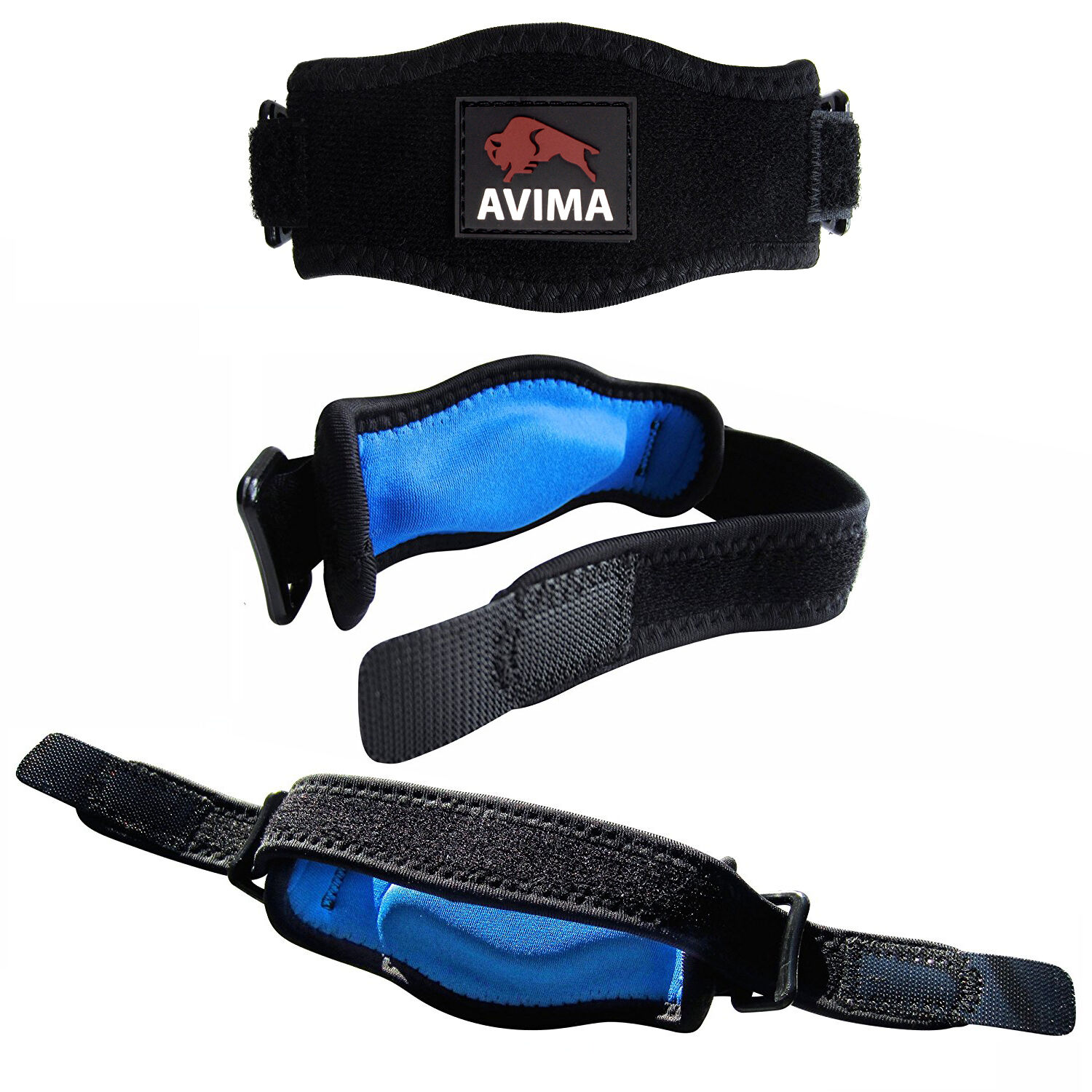 AVIMA Tennis Elbow Brace Strap Tendonitis Carpal Tunnel Golfers Relief Support