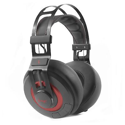 PSYC Wave ZX Deep Bass Bluetooth 4.0 Wireless Audio Headphones Over-Ear-Cup DJ