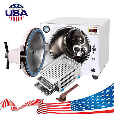 18l Dental Medical Steam Autoclave Sterilizer Safety Equipment 100 Warranty