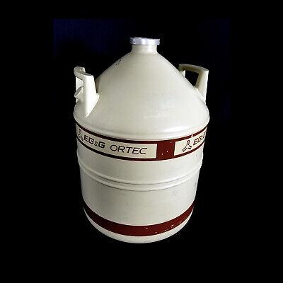 Egg Ortec Ln2 30 Liter Liquid Nitrogen Dewar Tank 2