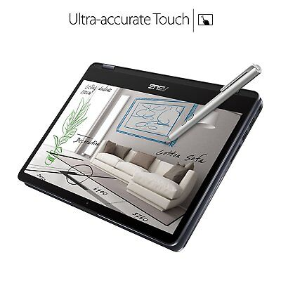 "ASUS Vivobook Flip 11.6"" 2-in-1 Touchscreen Laptop Intel N3350 2.4GHz 64GB SSD"