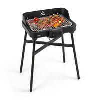 Barbecue Elettrico Griglia Bistecchiera Esterno Giardino Portatile 1600W Termome