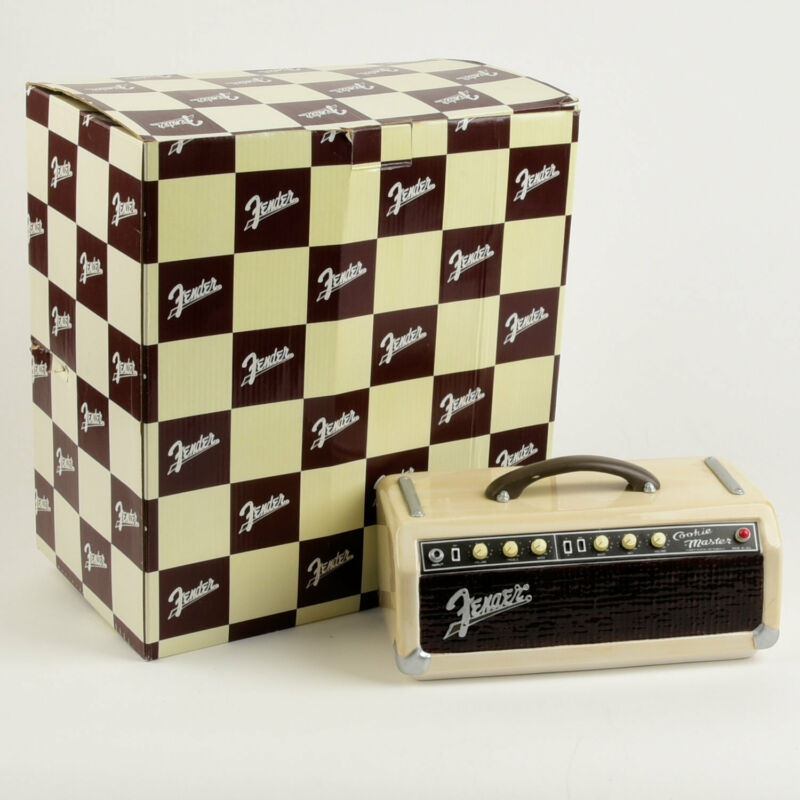 Fender Limited Edition Cookie Master Jar LID ONLY in Box Bandmaster