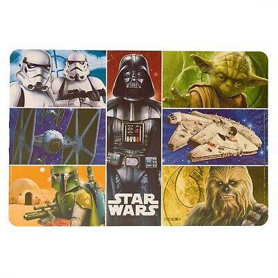 Platzset Star Wars Tischset Platzdeckchen Tischmatte Darth Vader Chewbacca