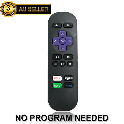 New Replaced Remote for Roku Express Roku 1 2 3 4 with Amazon Hulu Sling Netflix