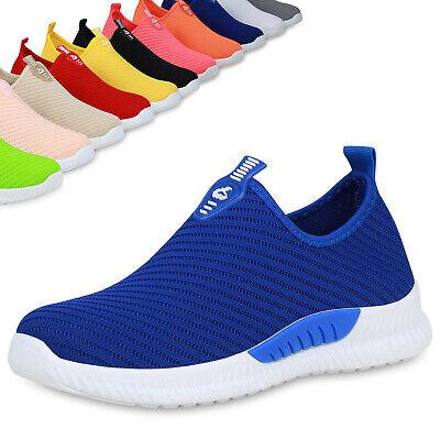 Damen Sportschuhe Slip On Sneaker Fitness Schuhe Strick Laufschuhe 899114 Top