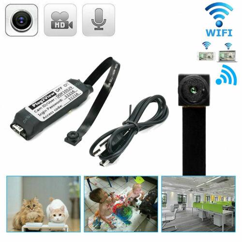 Mini Spy Nanny CAM wireless WIFI IP Pinhole DIY Small Video