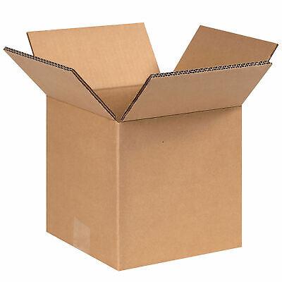 8 X 8 X 8 Heavy-duty Double Wall Cardboard Corrugated Boxes 100 Lbs
