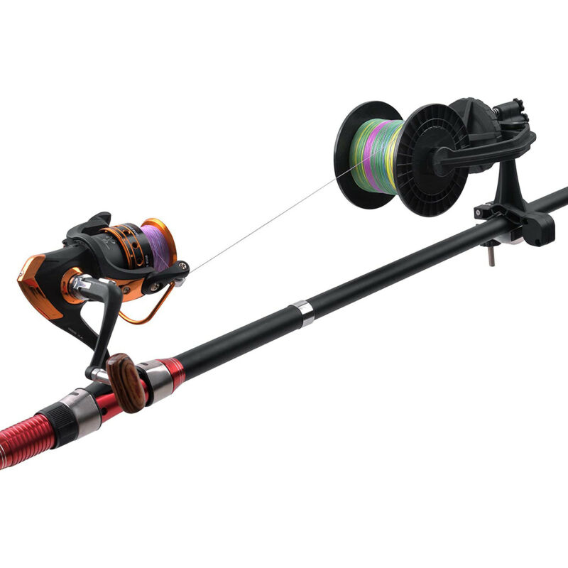 Fishing Line Spooler Winder Machine Spooling System for Spinning Fishing Reel