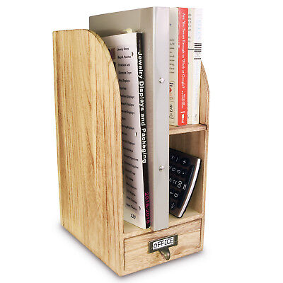 Adjustable Wooden Desktop Accessories Office Supplies Organizer