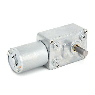 Dc12v Reversible 0.6-120rpm High Torque Turbo Worm Electric Geared Motor Quality
