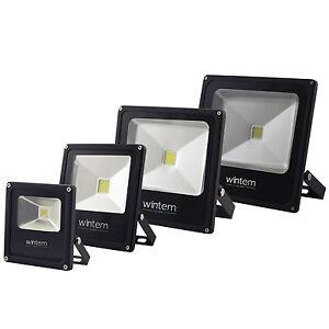 FARO-FARETTO-A-LED-ULTRA-SLIM-LUCE-CALDA-FREDDA-RGB-10W-20W-30W-50W-80W-ESTERNO