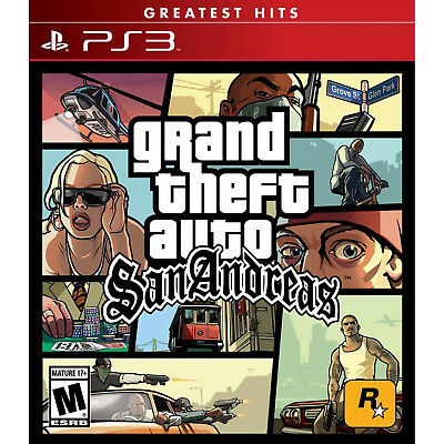 Grand Theft Auto  San Andreas Ps3  Brand New