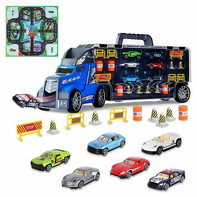 Great Toys For 3 Year Olds (Transport Car Carrier Truck Toy Great Gift for Boys Girls Age of 3-10 Year)