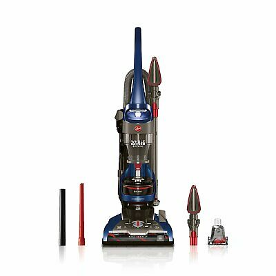 Hoover WindTunnel 2 Whole House Rewind Bagless Upright Blue Vacuum | (Hoover Windtunnel 2 Rewind Upright Vacuum Blue)