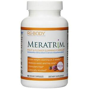"""Re Body Meratrim Fruit And Flower Capsules, 400mg, 60 Count"" by Re•Body"