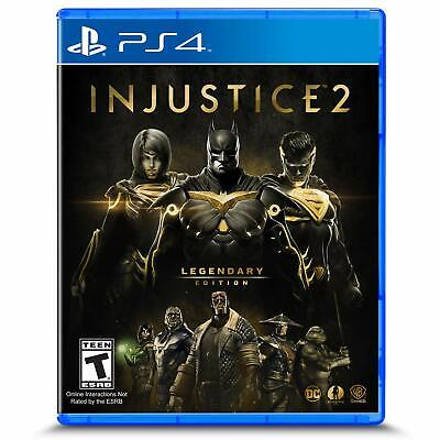Injustice 2 Legendary Edition PS4 New,  For PlayStation 4