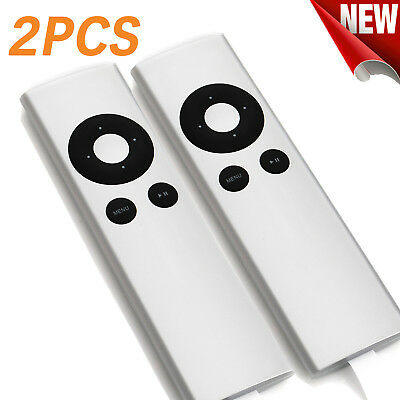 2PCS Universal Remote Control for Apple TV 1 2 3 MD199LL/A MC572LL/A MC377LL/A