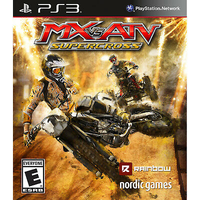 Купить MX vs. ATV Supercross PS3 [Brand New]