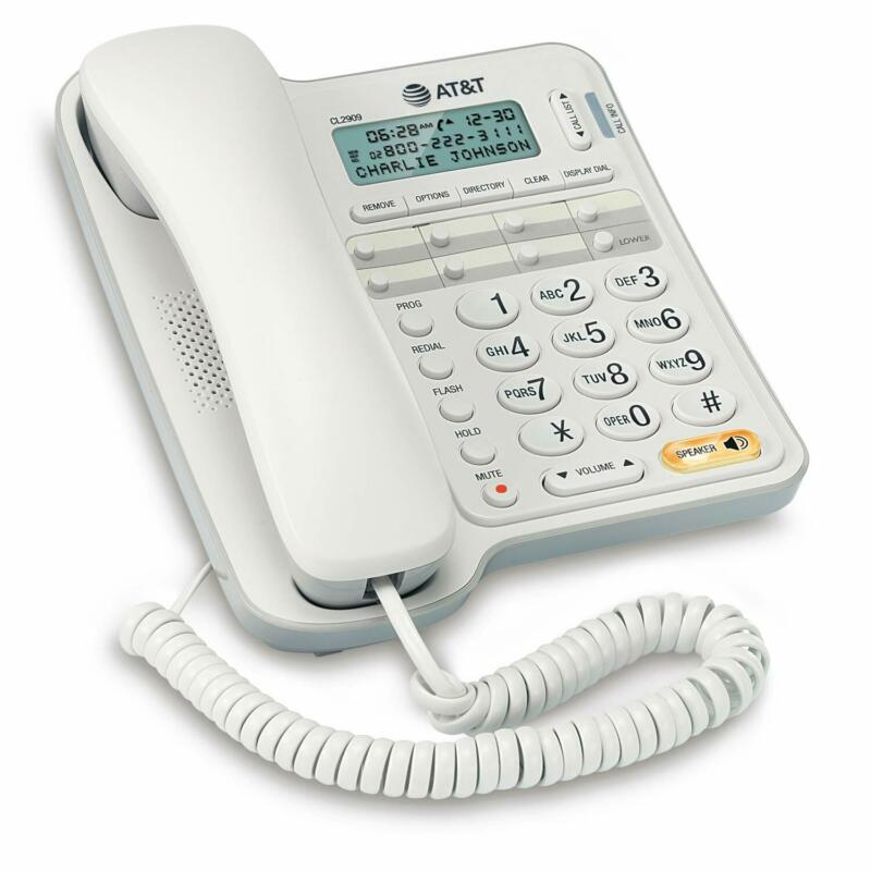 ATT Landline Phone With Speakerphone For Seniors Large Butto