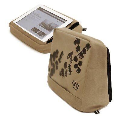 Bosign Tabletpillow 2 pass f. iPad/Tablet PC,Tablet-Kissen,waschbar,khaki-braun (Tablet-kissen)