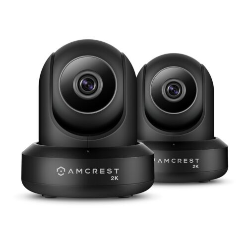 Amcrest UltraHD 2K 3MP IP3M-941B 90°WiFi Video Monitor Secu