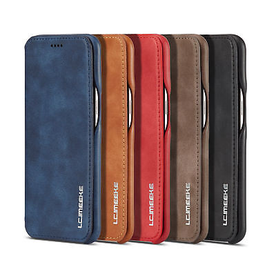 For Huawei P30 Pro / P20 Pro Flip Vintage Leather Case Card Wallet Cover Stand