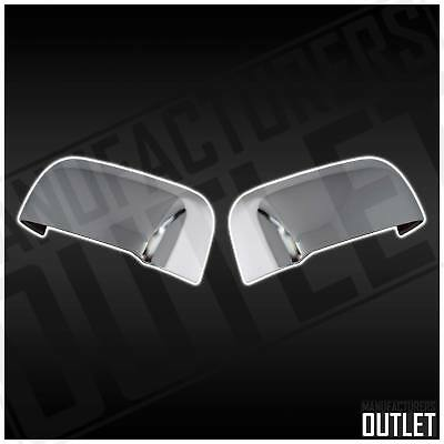 02-08 Dodge Ram 2500/3500 w/Towing Chrome Side Rear View Top Half Mirror Cover