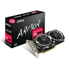 MSI RX 570 ARMOR 8G OC GAMING Radeon RX 570 8GB GDDR5 DirectX12 Graphics Card