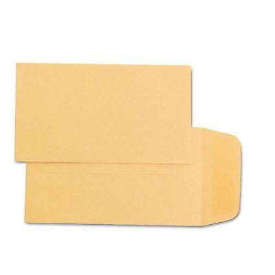 500 Coin Envelopes 2.25x3.5 28lb Kraft Shipping Mailing Gummed Small Manila Lot