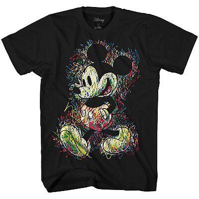 Disney World Mickey Mouse Disneyland Tee Graphic T-Shirt Funny Adult Mens Retro](Mens Mickey Mouse Shirt)