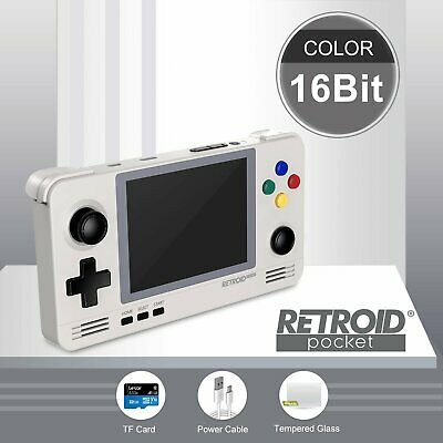 Retroid Pocket 2 + 32gb SD 16 bit themed, N64, Dreamcast