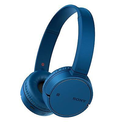 Sony WH-CH500 Wireless Bluetooth On-Ear Headphones Blue With Microphone