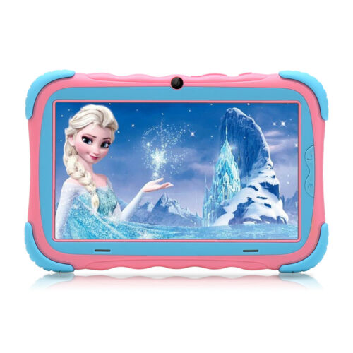 iRULU 7''inch Quad Core HD Tablet for Kids Android 7.1 16GB GMS Dual Camera WiFi