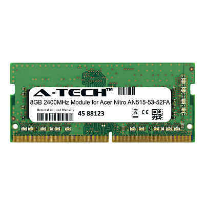 A-Tech 8GB 2400MHz DDR4 RAM for Acer Nitro AN515-53-52FA Laptop Notebook Memory