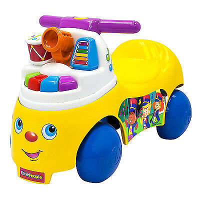 Baby Toddler Ride On Musical Push Car Activity Learning Play Fun Toy Kids Gift