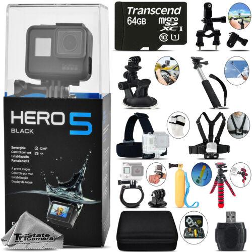 GoPro Hero 5 Black 4K30 Ultra HD, 12MP, Wi-Fi Waterproof
