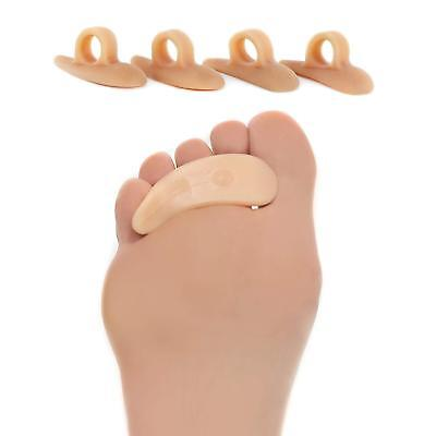 Gel Toe Crest (ZenToes Hammer Toe Straightener and Corrector 4 Pack Crests Silicone Gel Spacer )