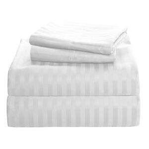 1000 Thread Count 100% Egyptian Cotton Sheets - 4pc Sheet Set